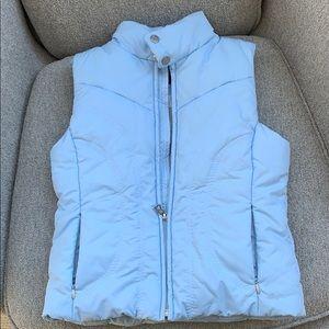 Bogner kids vest size M powder blue.